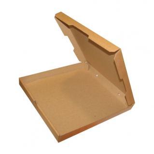 фото: Коробка для пиццы 400*400*40 мм бурый