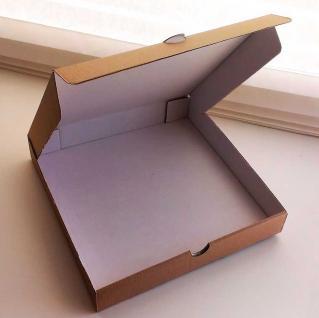 фото: Коробка для пиццы 320*320*40 мм, бурый