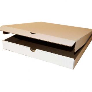 фото: Коробка для пиццы 400*400*40 мм белый