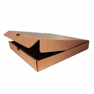 фото: Коробка для пиццы 350*350*40 мм бурый