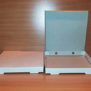 фото: Коробка для пиццы 320*320*40 мм, белый